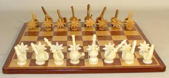 unique chess sets these unique chess pieces are hand carved from the ivory palm or palm from south unique chess boards uk