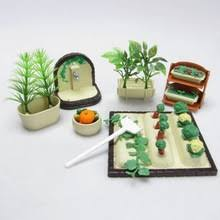 plastic dollhouse furniture sets. diy handmade miniature gardening vegetables sets for dollhouse furniture outdoor accessory toys set plastic r