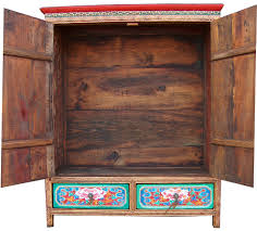 Antique Storage Cabinets Buddhist Lamas Storage Cabinet B004 05