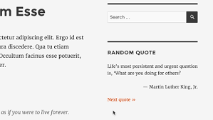 Random quotes How to Show Random Quotes in WordPress Sidebar 57