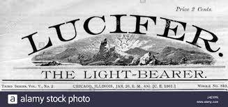 Lucifer Light Bearer Lucifer The Light Bearer Stock Photo 140470701 Alamy