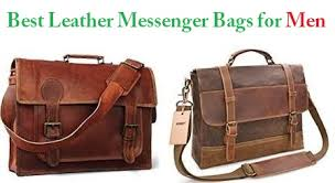 Top 15 Best <b>Leather Messenger</b> Bags for <b>Men</b> in 2019 | Travel Gear ...