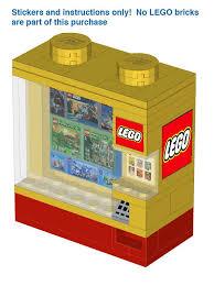 Vending Machine Instructions Mesmerizing LEGO™ Vending Machine Instructions And Stickers LEGO Pinterest
