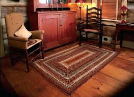 good country braided rugs and tabletop whole primitive sunflowers cotton rug