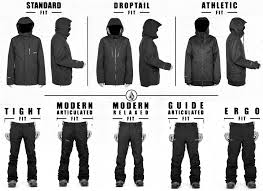 Volcom Pants Size Chart Size Guide Volcom