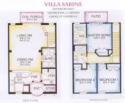 Elegant Story House Plans Displaying Luxury   Gorgeous Modern    Elegant Story House Plans Displaying Luxury   Gorgeous Modern Story Villa Floor Plans Sabine