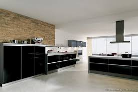 modern black kitchen cabinets. Brilliant Modern Black Kitchen Cabinets Perfect Home Design Trend 2017 H