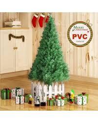 4ft5ft6ft7ft8ft unlit christmas tree wstand indoor 7 ft unlit christmas tree r89