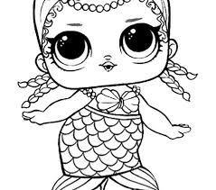 Free Printable Lol Doll Coloring Pages