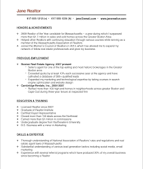 the real estate agent resume examples tips real estate agent the real estate agent resume examples tips