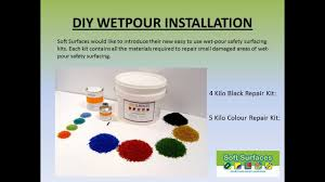 do it yourself diy wetpour installation