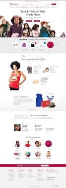 best images about clean webdesign burlington burlington coat factory redesign by annmarie akong via behance