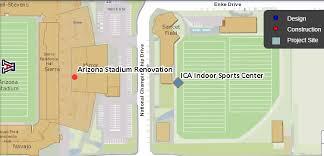 Arizona Mckale Center Seating Chart East Side Of Arizona Stadium To Be Renovated For 2018