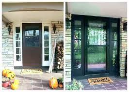 superb modern entry door front lights side outside d22