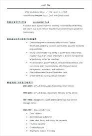Accounting Resumes Objectives Accounting Internship Resume Objective