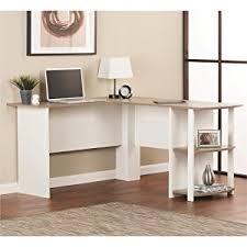 L shaped home office desk Vintage Home Office Deskcorner Deskdorm Room Furnitureschool Deskbedroom Furniture Amazoncom Amazoncom Ameriwood Home Dakota Lshaped Desk With Bookshelves