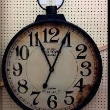 pocket watch wall clock giant pocket watch wall clock large vintage pocket watch wall clock
