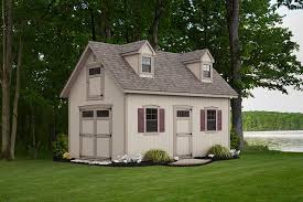 two story shed attic buildings