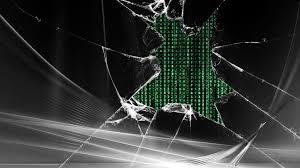 Broken Glass Scratch Screen Wallpaper ...
