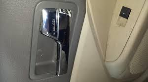 door handles broken