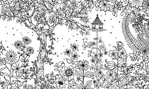 Small Picture Amazing Secret Garden Coloring Pages Color Luna