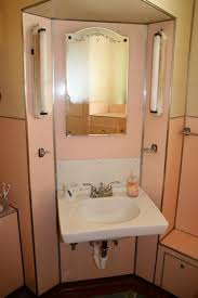 1930s Bathroom Noelles 1930s Bathroom With Pink Panel Walls Retro Renovation