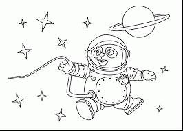Small Picture surprising astronaut coloring page printable pages for kids with