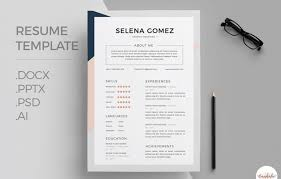 Professional Resume Template Word New 48 Eye Catching CV Templates For MS Word Free To Download