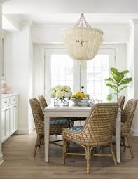 interior design ideas colorful interiors coastal relaxed dining room with rattan dining chairs