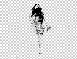 Black And White Drawing Fashion Illustration Illustration Png