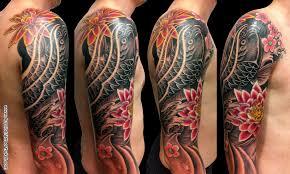 Koi Tattoo Tetování Tattoo Kérkycz