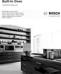 built in oveninstallation manual