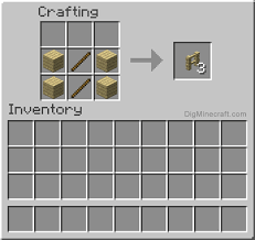 minecraft fence crafting.  Fence How To Make A Birch Fence In Minecraft And More Crafting Recipes For Fence Crafting