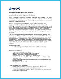 Data Architect Resume Enterprise Data Architect Resume Resume
