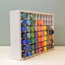 Craft Paint Organizer-holds 70 ...