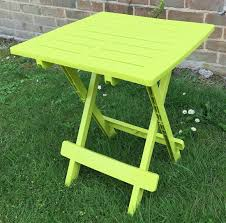 resin plastic garden table lightweight folding outdoor camping side table