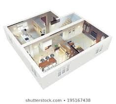 3d House Plans Images, Stock Photos & Vectors   Shutterstock