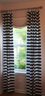 Navy And White Curtains The 25 Best Horizontal Striped Curtains Ideas On Pinterest