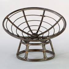 Espresso Papasan Chair Frame