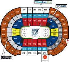 Lightning Hockey Seating Chart Unique Tampa Bay Times Forum Lightning Seating Chart Phoenix