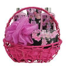 bath and body works gift basket ideas amazon com spa gift basket bath and body with exotic orchid