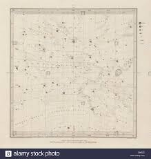 Astronomy Celestial Star Map Chart Signs 1 Vernal Spring