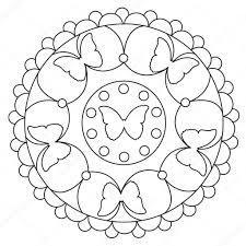 Mandala Kleurplaat Voor Kinderen Dejachthoorn