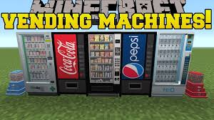 Vending Machine Mod Unique MrCrayfish Vending Machine Mod 4848484848484848 For Minecraft McModNet