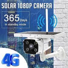 WiFi HD 1080P 4G sim kart güneş enerjili IP kamera su geçirmez IR gece  görüş gözetim cam uygun fiyatlı satın alın, fiyat 1602 RON - 📦 ücretsiz  teslimat, ⭐ fotoğraflarla gerçek yorumlar - Joom