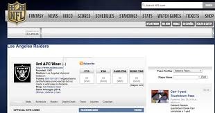 Jumping The Gun Nfl Com Says Los Angeles Rams Team Page