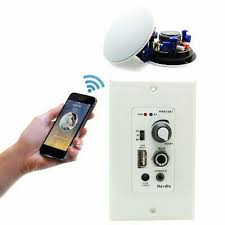 in wall mount bluetooth audio control