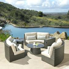 Mission Hills Patio Furniture Costco Deep Seating Sectional – amasso