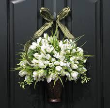 front door decorationNatural Elegant Design Of The Front Door Decor Ideas That Has