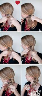 How Todo Hair Style howto fishtail braided bun hairstyle hair romance 5363 by wearticles.com